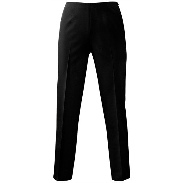 Techno Side Zip Capri in Black
