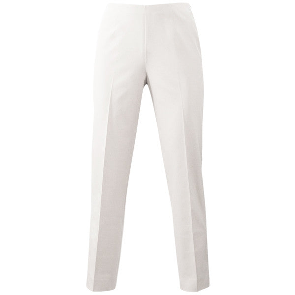 Techno Side Zip Capri in White