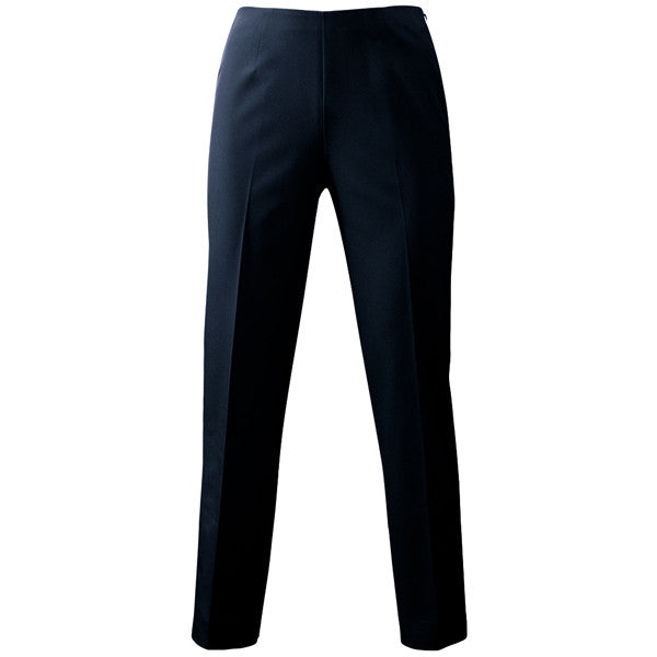 Techno Side Zip Capri in Navy