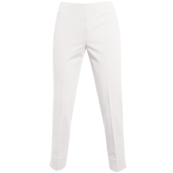 Viscose Knit Capri in White