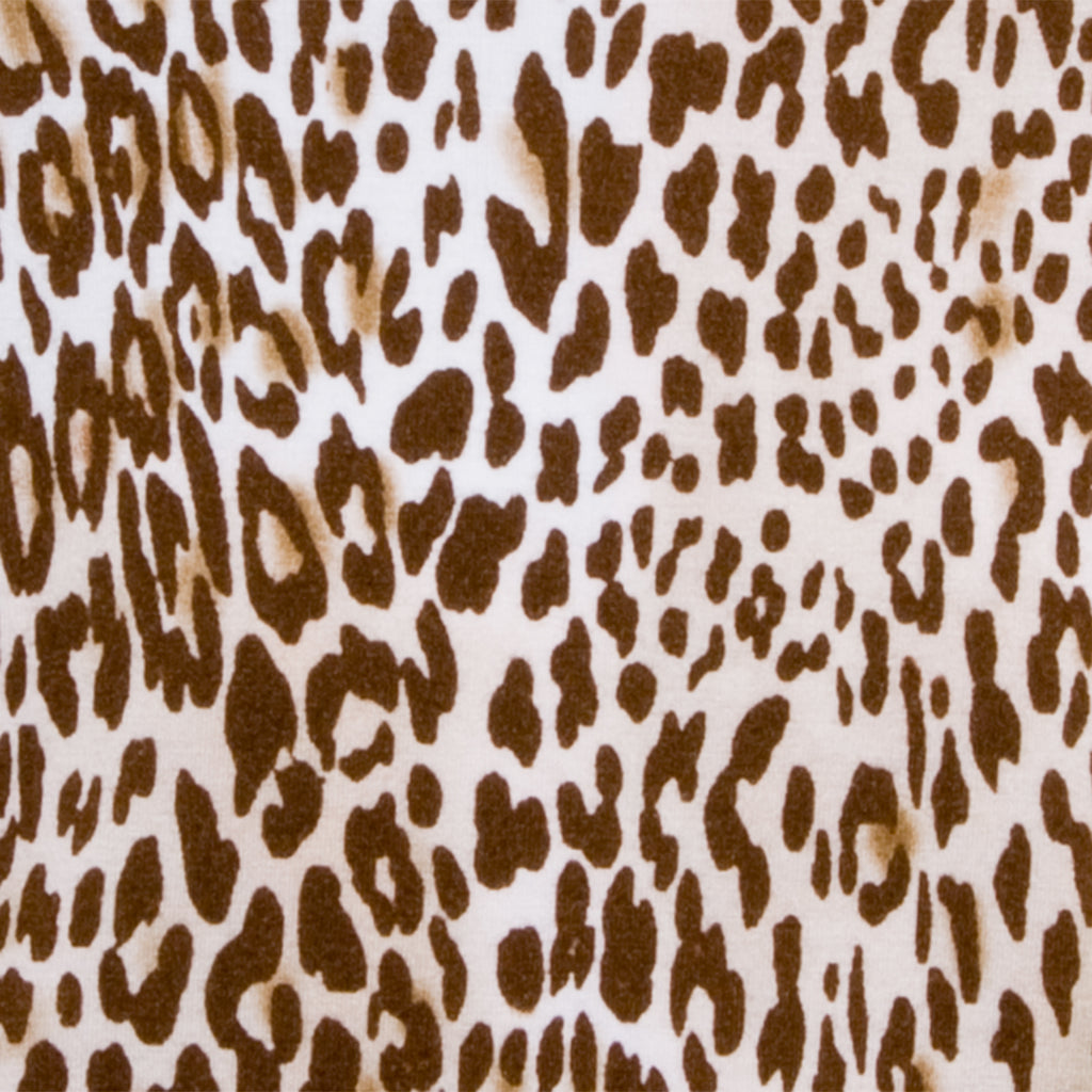 Printed Tee in Light Leopard