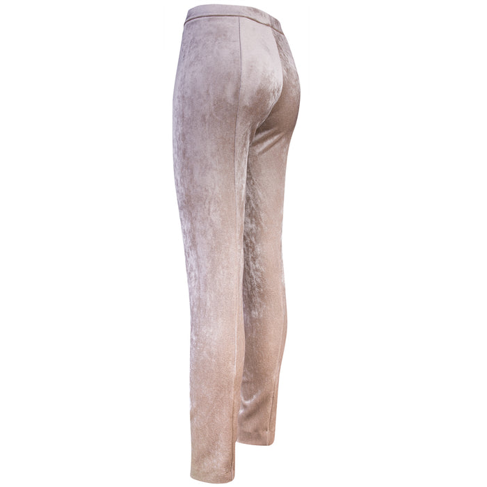 Velvet Scuba Pull on Pant in Prosecco
