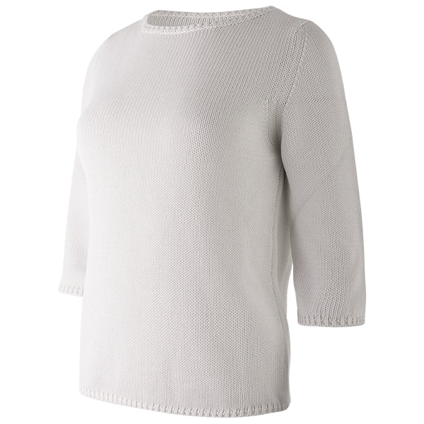 3/4 Sleeve Pullover in Vapore