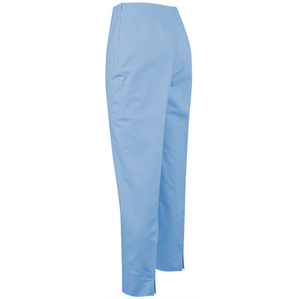 Slim Fit Capri in New Light Blue