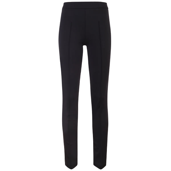 Slim Fit Pintuck Pant in Black