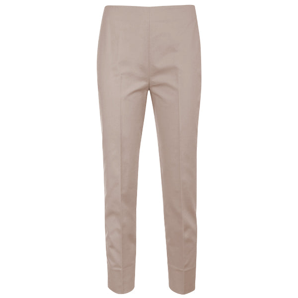 Slim Fit Capri in Taupe