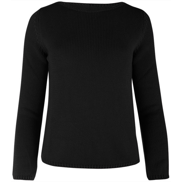 Long Sleeve Pullover in Black