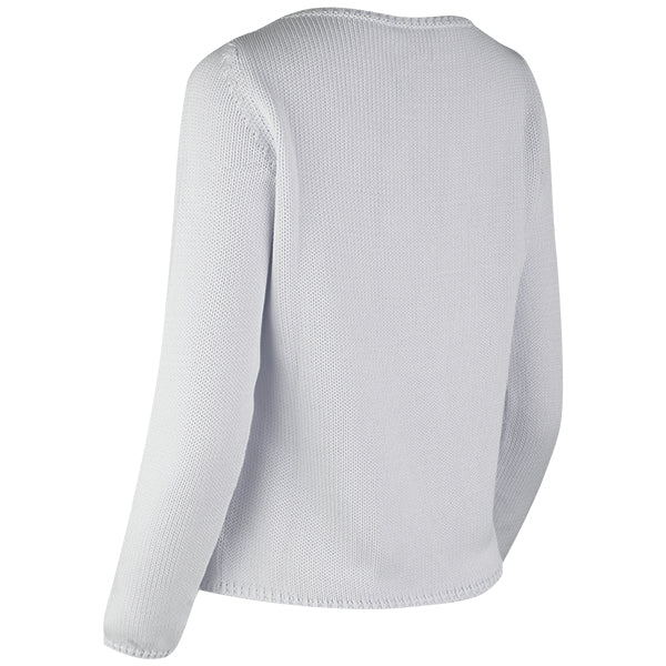 Long Sleeve Pullover in Light Grey
