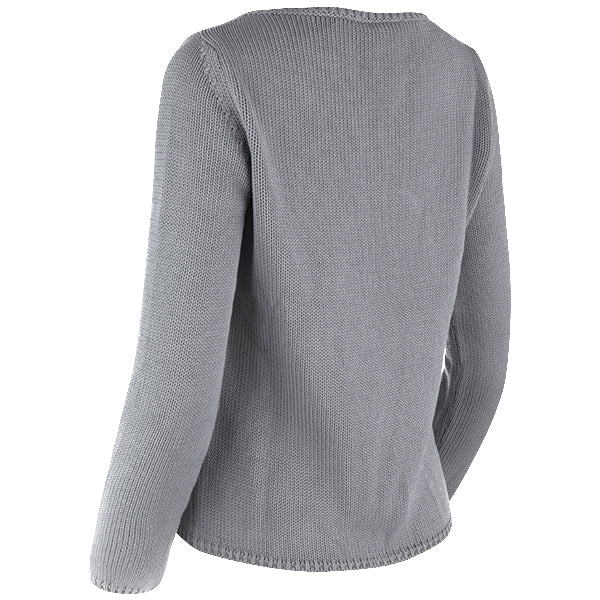 Long Sleeve Pullover in Dark Grey