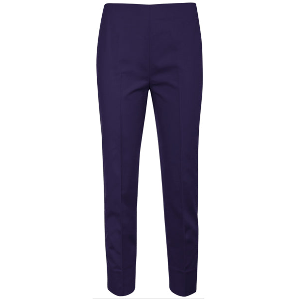 Slim Fit Capri in Grape