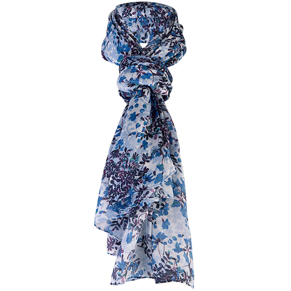 Printed Modal Cashmere Scarf in Floral Beauty