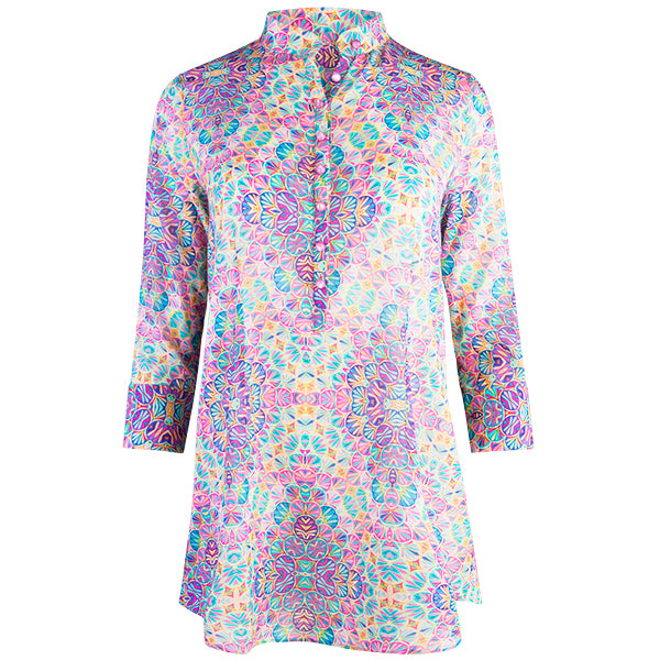 St. Tropez Tunic in Kaleidoscope