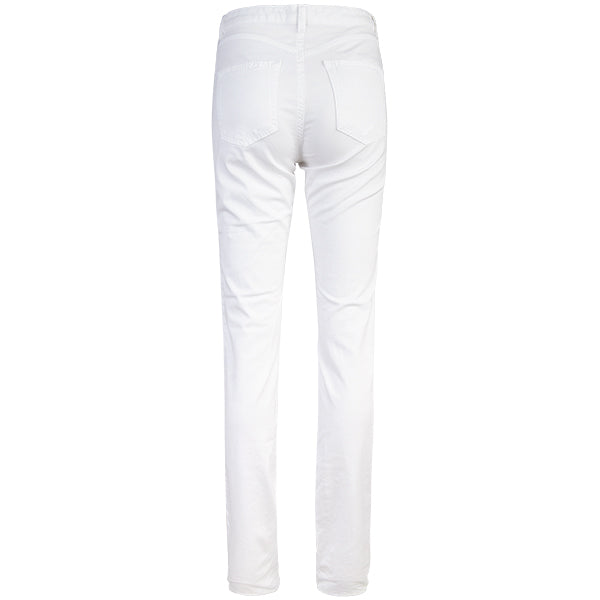Classic 5-Pocket Jean in White.