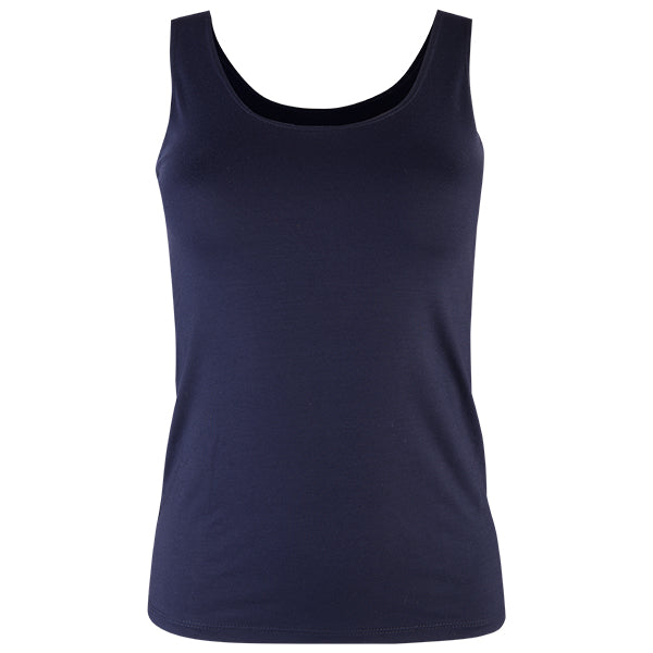 Long Tank Top in Navy