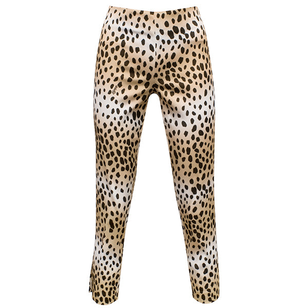 Printed Capri In Soft Leopard