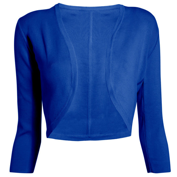 Cotton Bolero in Royal Blue,