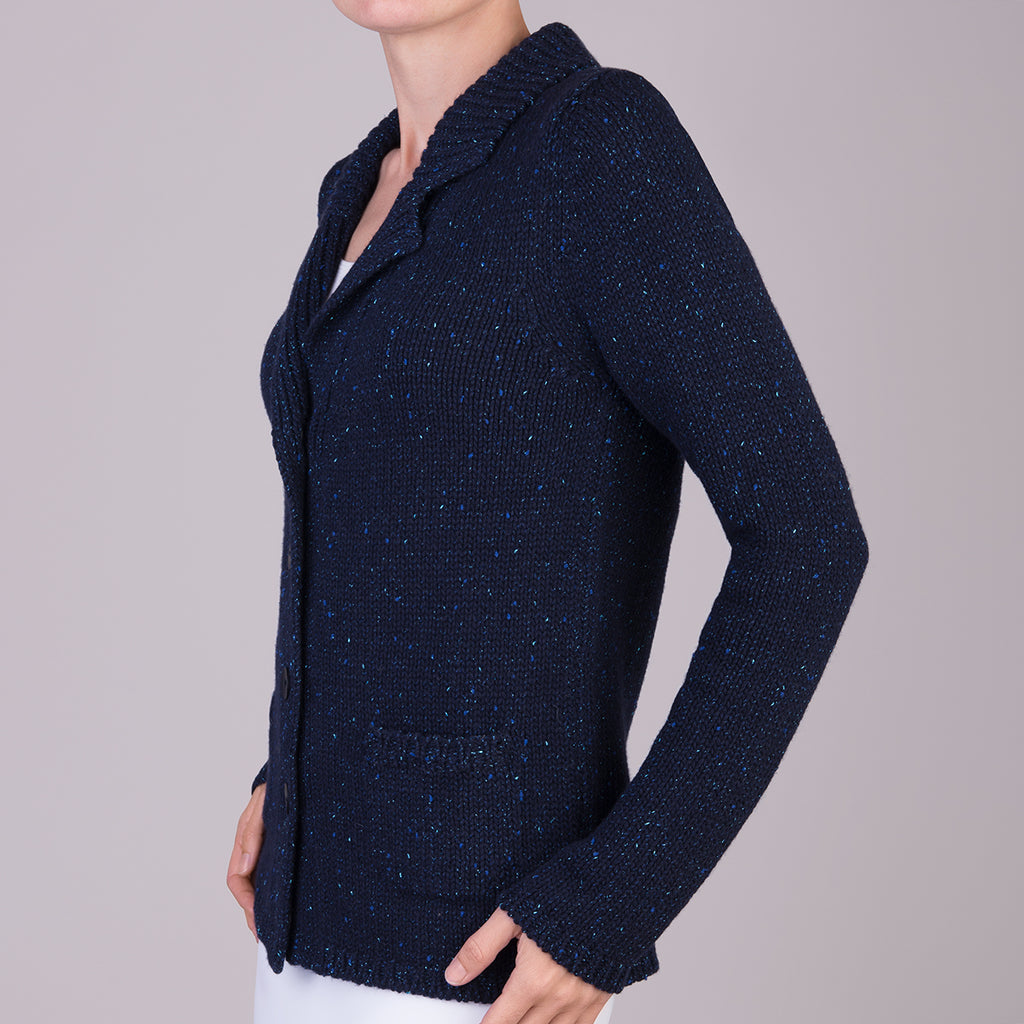Vista Cardigan in Navy