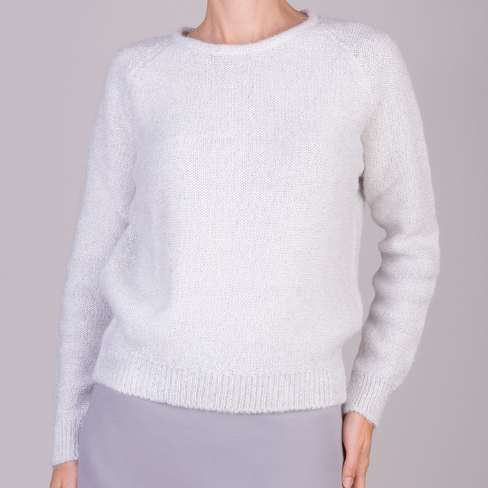 Visto Pullover in White