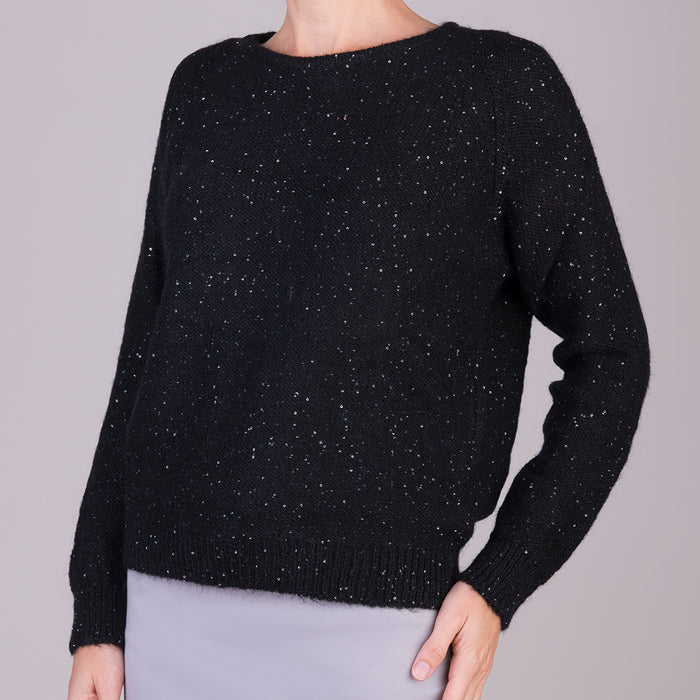 Visto Pullover in Black