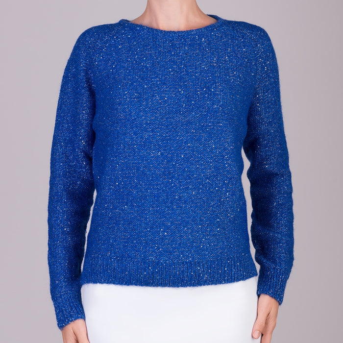 Visto Pullover in Azure