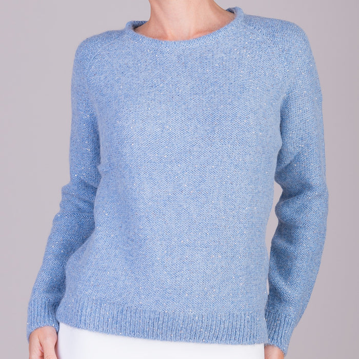 Visto Pullover in Light Blue