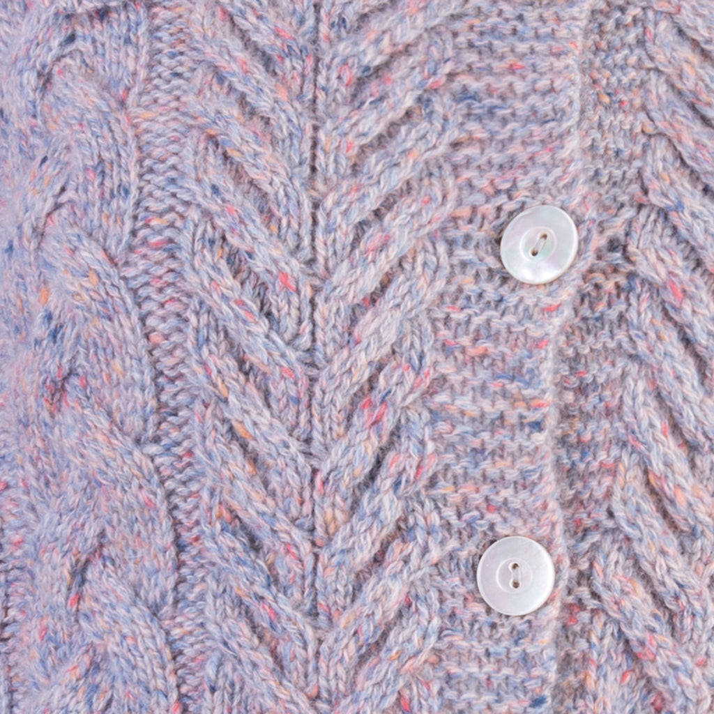 Alice's Sweater in Blue Multi Tweed