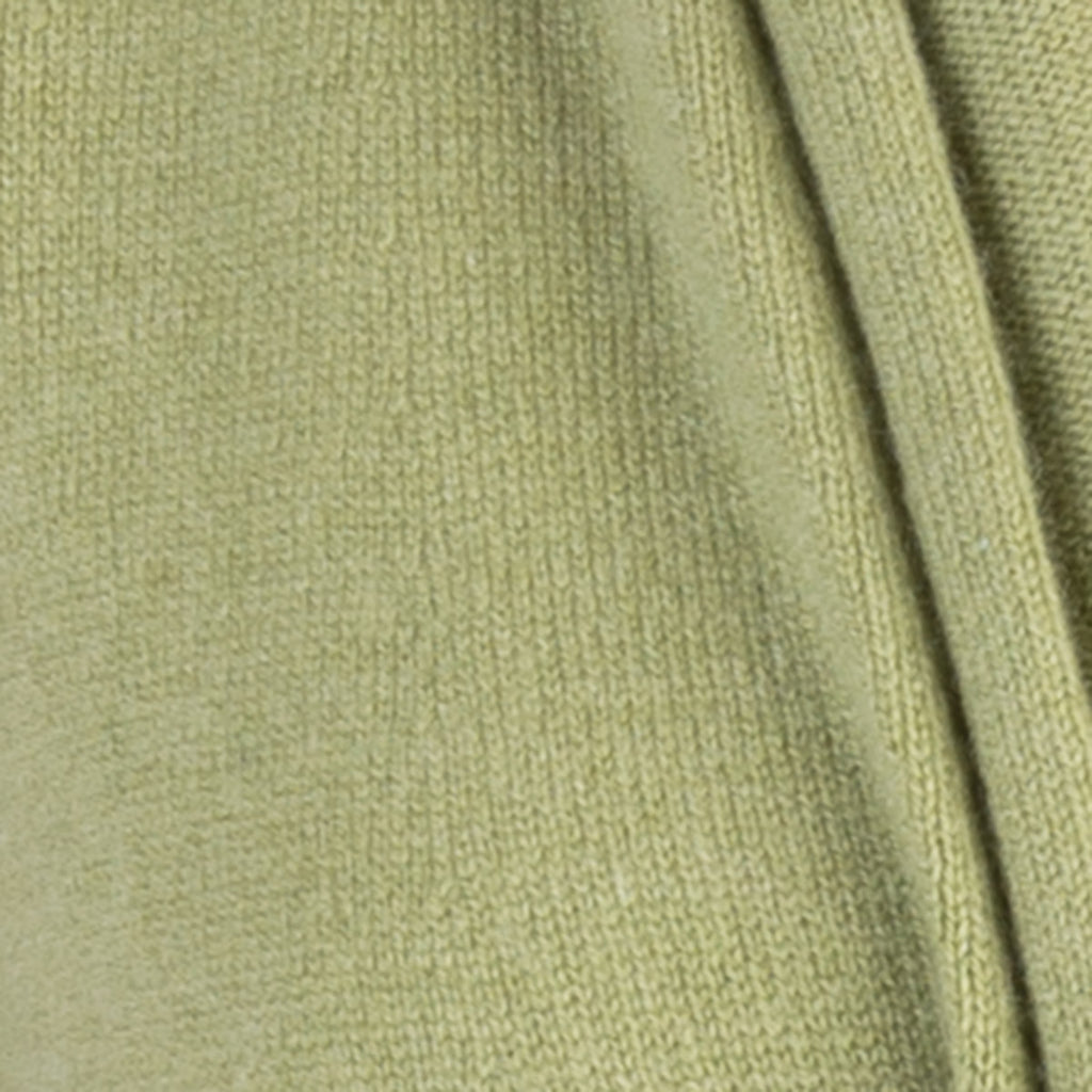 Tie Front Cable Trim in Olive