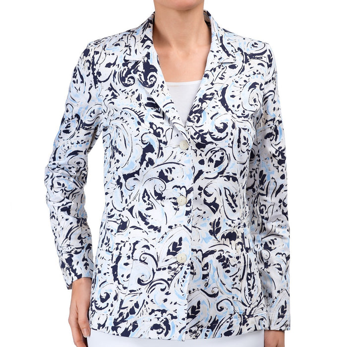 Jane Jacket in Paisley Splash