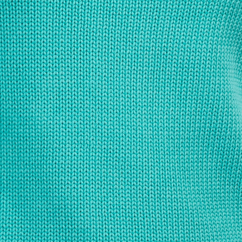 3/4 Sleeve Pullover in Light Teal