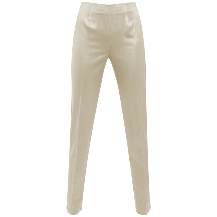 Silk / Wool Classic Side Zip Pant