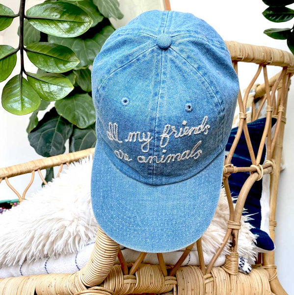 all my friends are animals® Denim Dad Hat