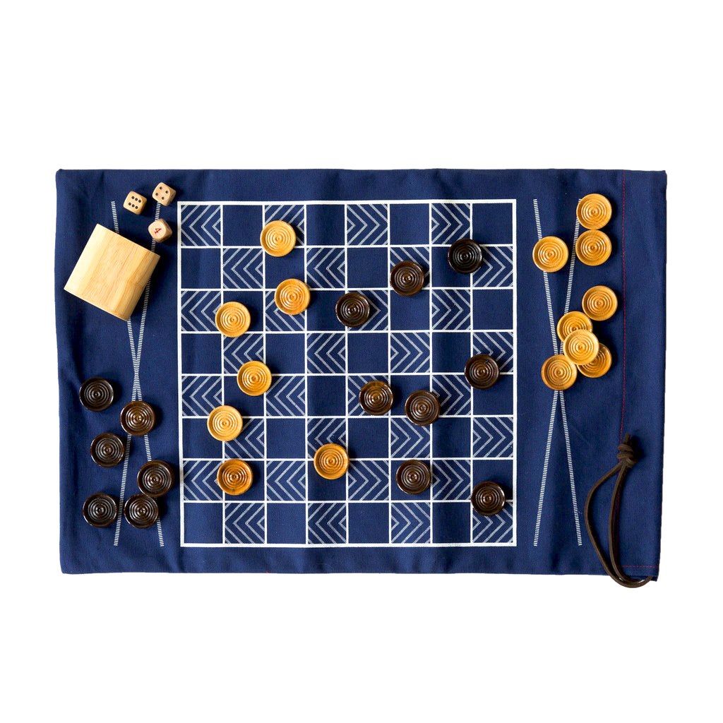 The Original Double-Sided Game-Bag Set, Navy