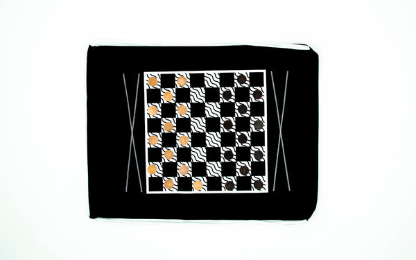 Backpack Backgammon & Checkers: Classic