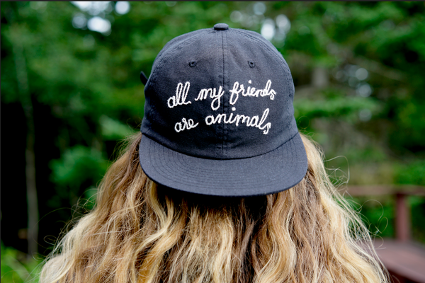 Hemp Hat by all my friends are animals®