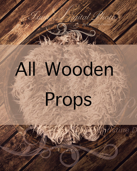 All wooden props