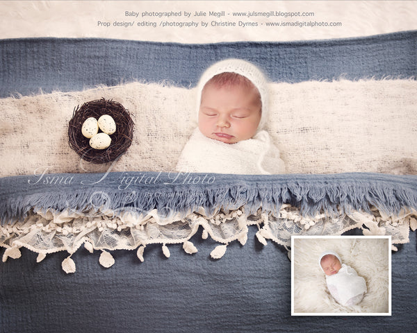 Easter Carpet With Egg - Beautiful Digital background Newborn Photography Prop download