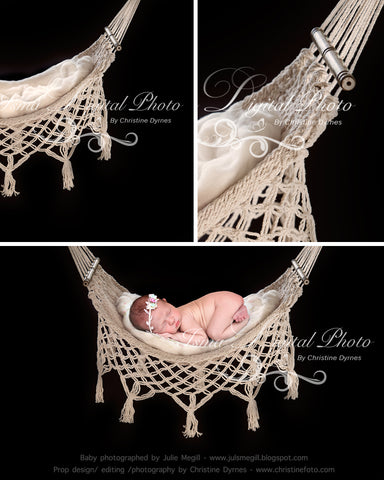 Hammock With Black Background - Beautiful Digital background Newborn Photography Prop download