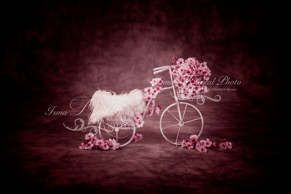Iron bike - Digital backdrop /background - psd with layers