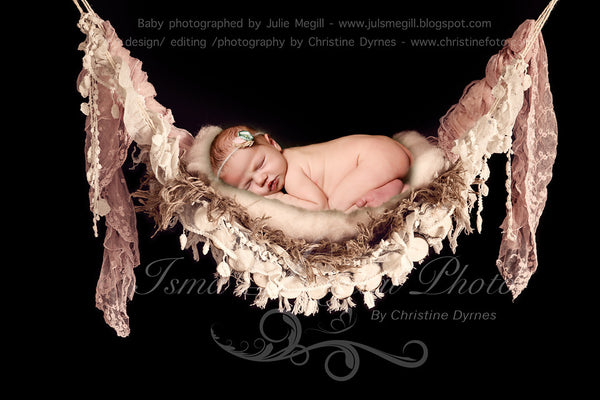 Wood hammock 3 - Beautiful Digital background Newborn Photography Prop download