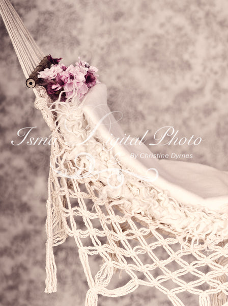 Hammock With Texture Background - Beautiful Digital background Newborn Photography Prop download