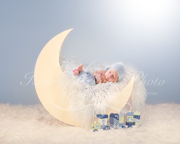 Moon - Beautiful Digital background Newborn Photography Prop download