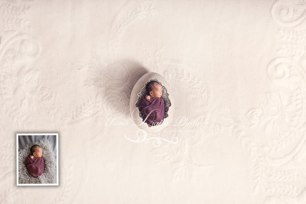 One Egg Design With Lace Background - Beautiful Digital background Newborn Photography Prop download