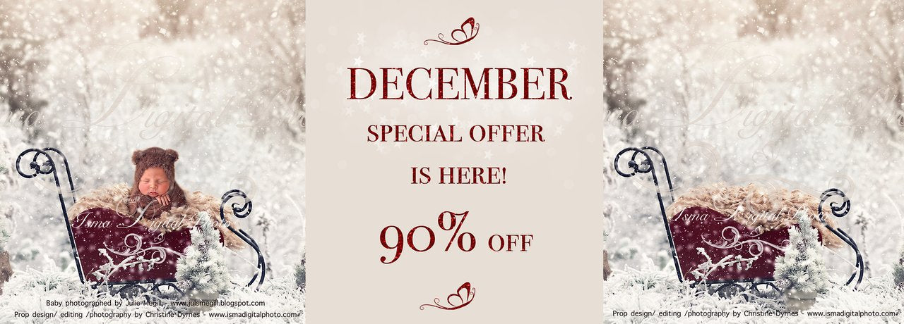 December special offer 90% off - Will last until 31/10-18
