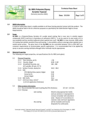 UV TopCoat for Stone and Concrete Technical Data Sheet