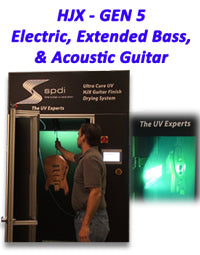 Gen 5 UV Guitar Finishing Cabinet