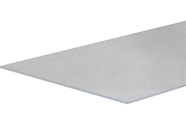 Clear Fused Ground polished Quartz Plate - 240mm x 130mm x 3mm - Flat Single Piece