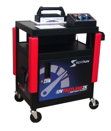 UV Fastlane 2K Cart - Automotive Collision UV Curing System