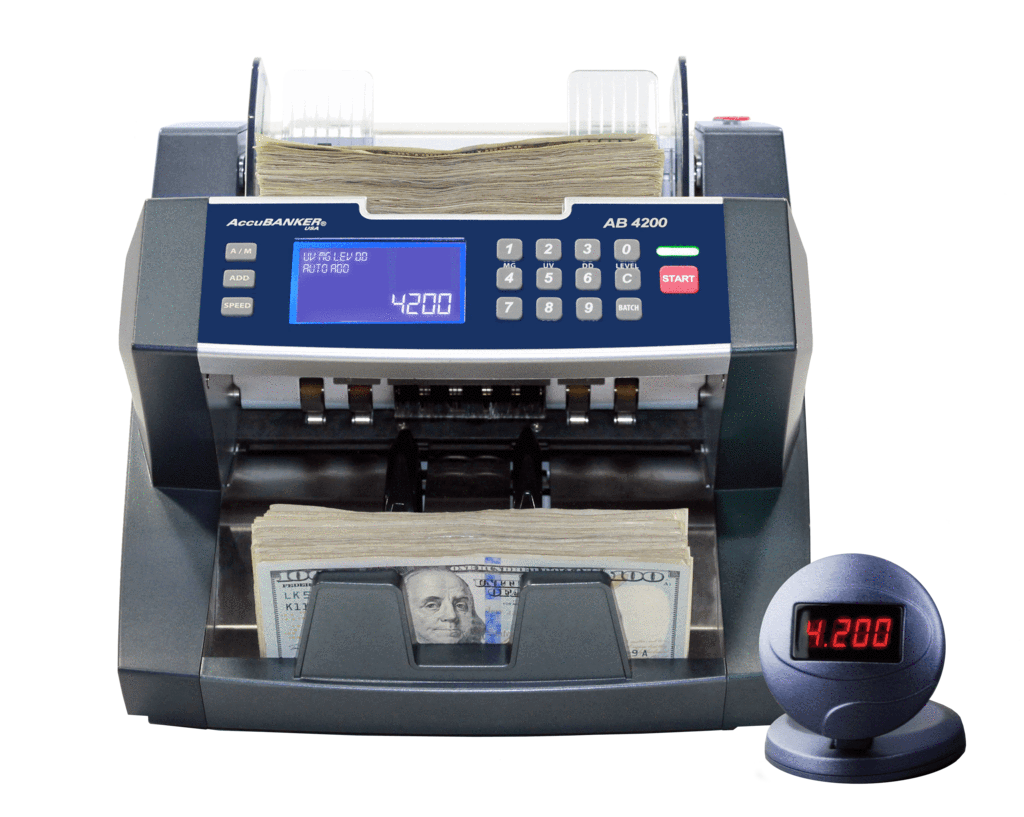 Accubanker AB4000 MGUV - Cash Teller with UV and MG Detection