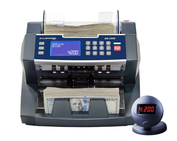 Accubanker AB4200 UV - Cash Teller with UV Detection