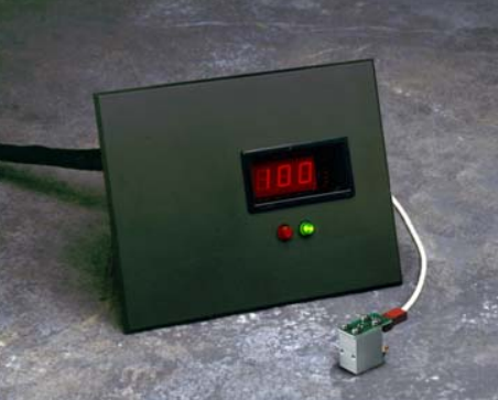 Intensity Display Module - for Online Radiometer